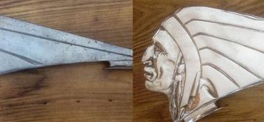 Metal Polishing Aberdeen - Polished Indian Sign