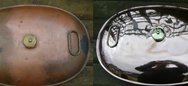 Metal Polishing Aberdeen - Polished Copper Warmer