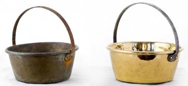 Metal Polishing Aberdeen - Polished Copper Bowl