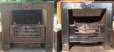 Metal Polishing Aberdeen - Polished Steel Fire Place