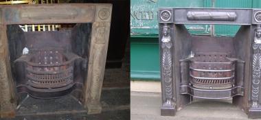 Metal Polishing Aberdeen - Polished Steel Fireplace