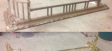Metal Polishing Aberdeen - Polished Fireplace Fender