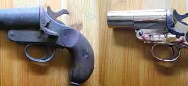 Metal Polishing Aberdeen - Polished Antique Starting Pistol